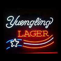 YUENGLING LAGER BEER Neontábla