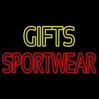 Yellow Gifts Red Sportswear Neontábla