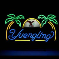 Yuengling Palm Tree Neontábla