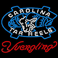 Yuengling Unc North Carolina Tar Heels Beer Sign Neontábla